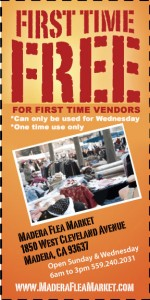 Madera Flea Market Vendor Coupon